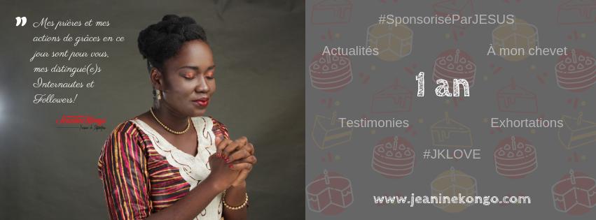 Blog chrétien Jeanine KONGO